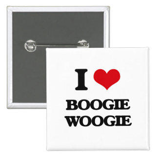 I Love BOOGIE WOOGIE Pins