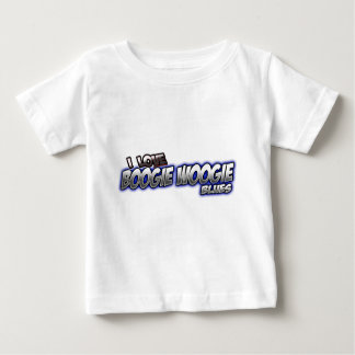 I Love Boogie Woogie BLUES music Baby T-Shirt