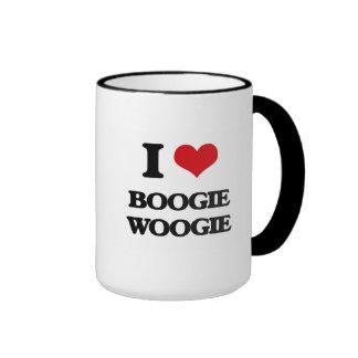 I Love BOOGIE WOOGIE Mugs