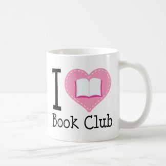 I Love Book Club Basic White Mug