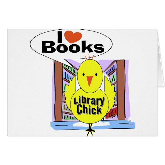 I Love Books Greeting Card