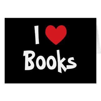 I Love Books Greeting Card