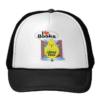 I Love Books Hats