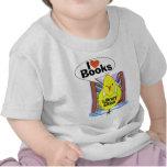 I Love Books T-shirts