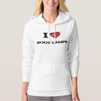 I love Boot Camps Hoodie