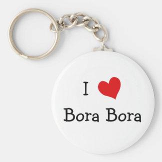 I Love Bora Bora Key Ring