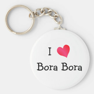 I Love Bora Bora Key Ring