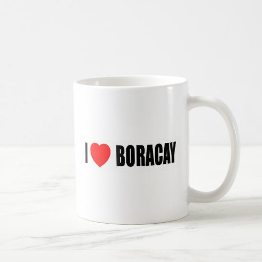 I Love Boracay Mug