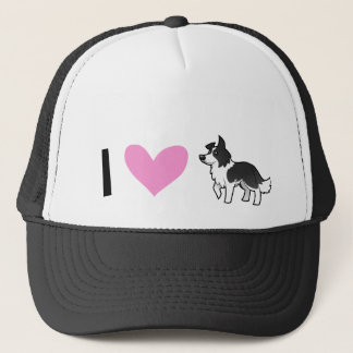 I Love Border Collies Trucker Hat