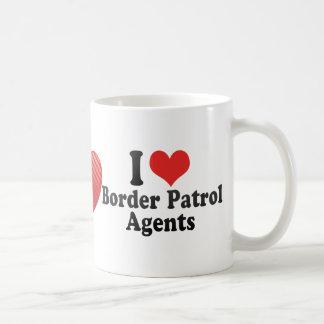 I Love Border Patrol Agents Mug