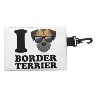 I Love Border Terrier -1- Accessories Bags