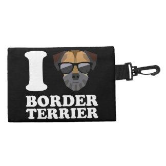 I Love Border Terrier -2- Accessory Bag