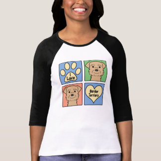 I Love Border Terriers Shirts