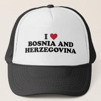 I Love Bosnia and Herzegovina Trucker Hat