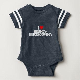 I LOVE BOSNIA-HERZEGOVINA TSHIRTS