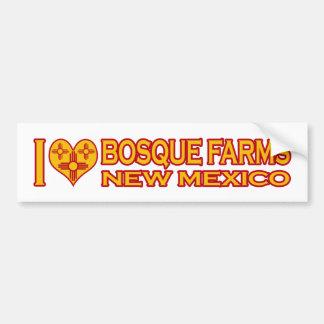 I Love Bosque Farms NM Bumper Sticker
