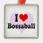 I love Bossaball Ornament