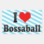 I love Bossaball Sticker