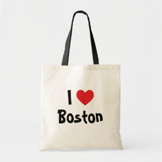 I Love Boston Budget Tote Bag