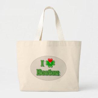 i Love Boston - Clover Bag