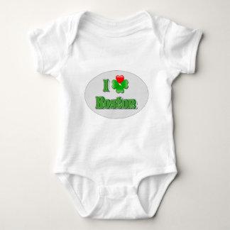 i Love Boston - Clover Infant Creeper