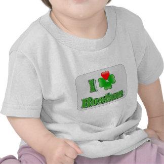 I Love Boston - Clover Tee Shirts
