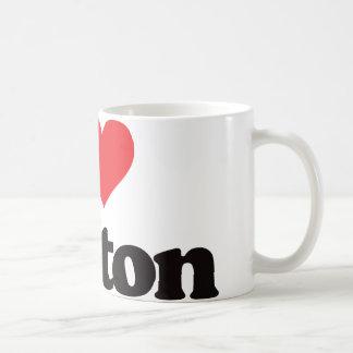 I Love Boston Coffee Mug
