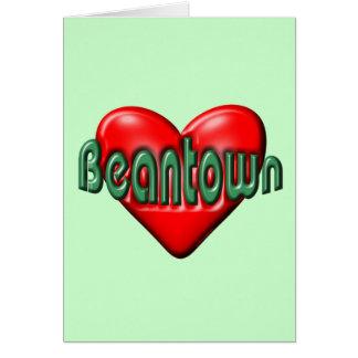 I Love Boston Note Card