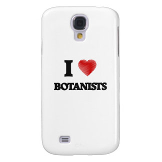 I love Botanists (Heart made from words) Galaxy S4 Case