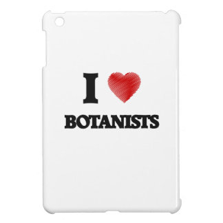 I love Botanists (Heart made from words) iPad Mini Cover