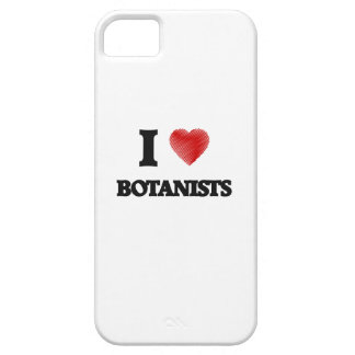 I love Botanists (Heart made from words) iPhone 5 Cover