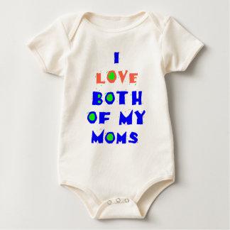 I Love Both Of My MOMS Shirt