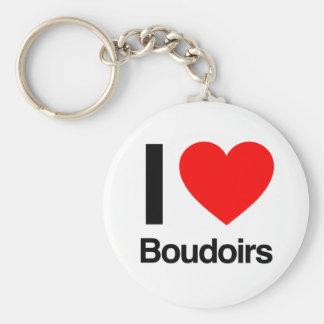 i love boudoirs keychains