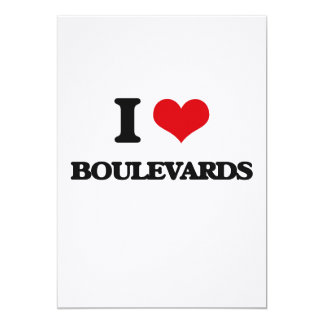 I Love Boulevards Cards