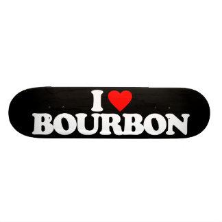 I LOVE BOURBON SKATE BOARD DECKS