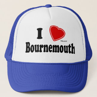 I Love Bournemouth Trucker Hat