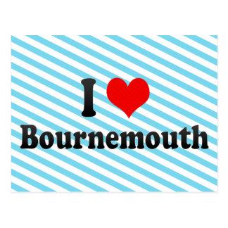 I Love Bournemouth, United Kingdom Postcard