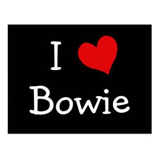 I Love Bowie Postcard