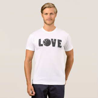 I Love Bowling Bowlers Sports Words T-Shirt
