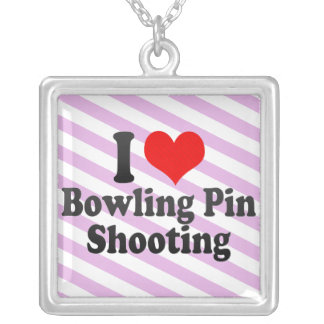 I love Bowling Pin Shooting Jewelry