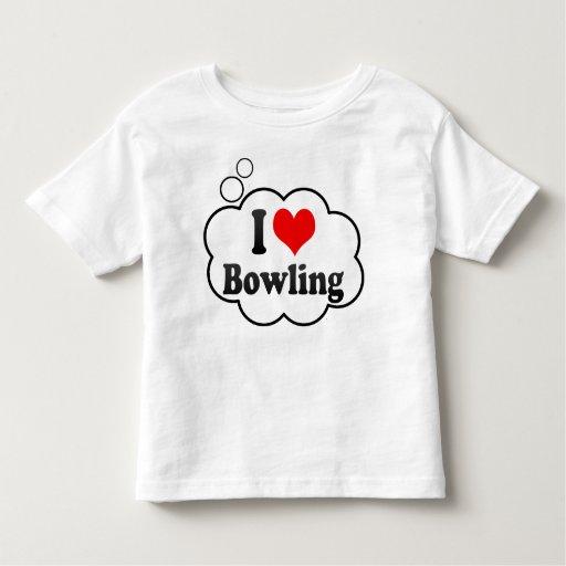 I love Bowling Tshirts