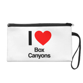 i love box canyons wristlet purses