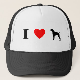 I Love Boxers Hat