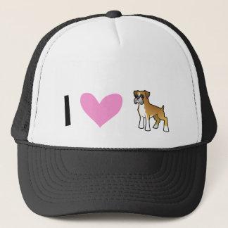 I Love Boxers Trucker Hat