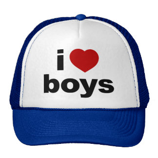 I Love Boys Hat