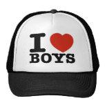 I love boys hats