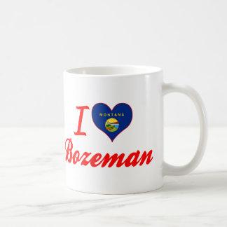 I Love Bozeman, Montana Basic White Mug