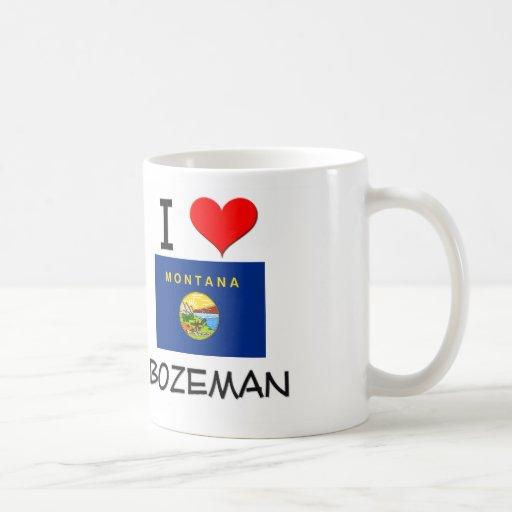I Love Bozeman Montana Coffee Mug