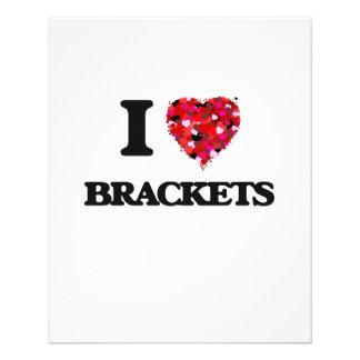 I Love Brackets 11.5 Cm X 14 Cm Flyer