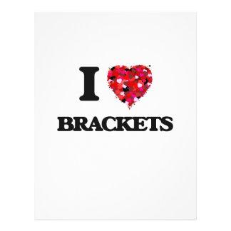 I Love Brackets 21.5 Cm X 28 Cm Flyer